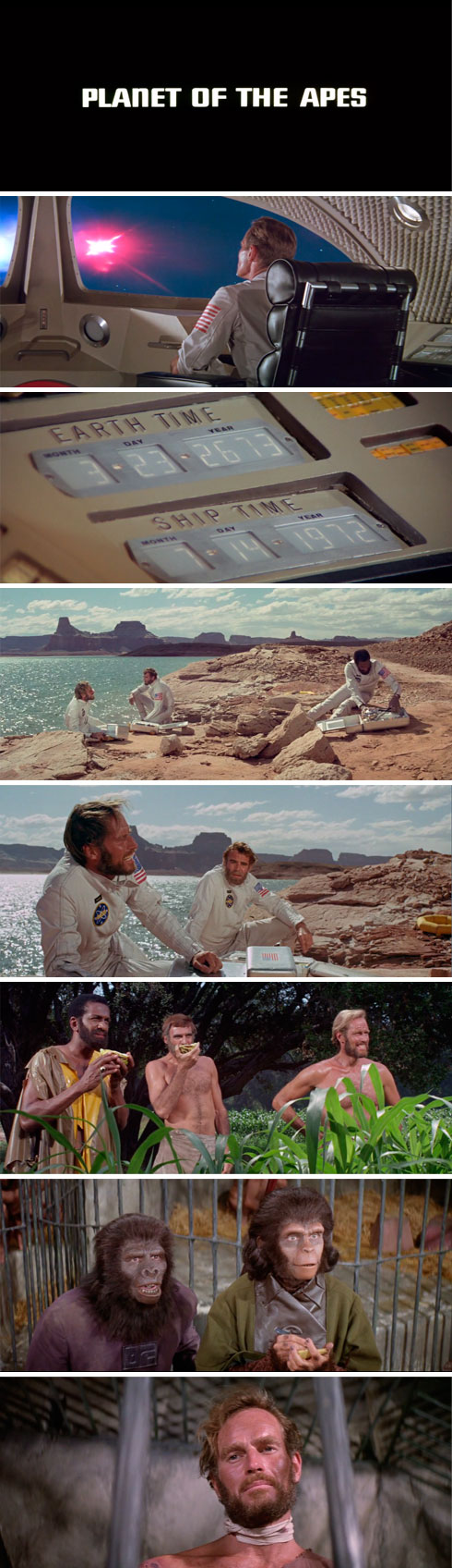 movie crush: Planet of the Apes